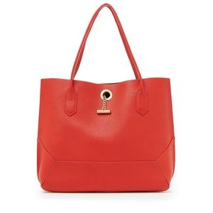 Botkier New York tote orange/red beautiful,